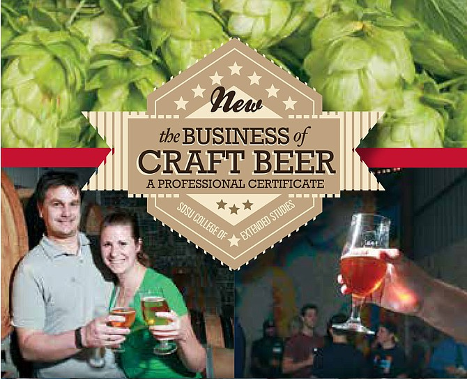 Registration for SDSU's beer certification program open to the public.