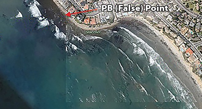 Big Winter Swells Hit False Point First