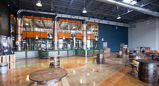 Alesmith's new beer hall
