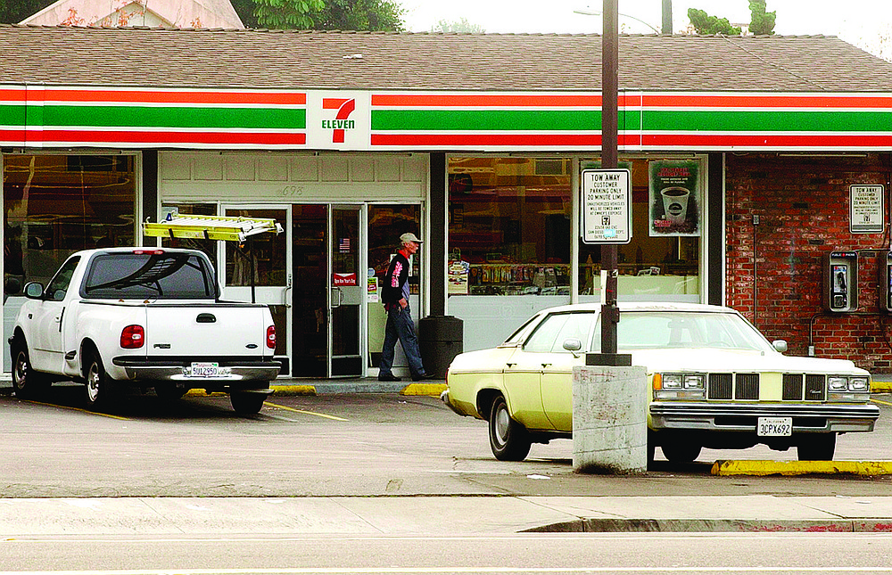 "7-Eleven on H Street. When Cruz walked out of the store, Medina and Bury told him to shut up before he got ""capped."""