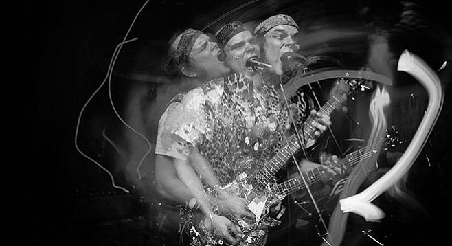 Punk-rock deconstructionists Timmy's Organism take the Tower Bar Thursday night!