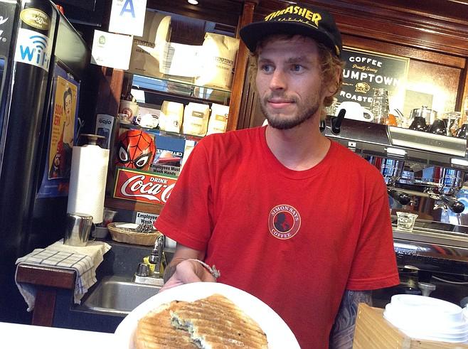 Cody, aka barista therapista