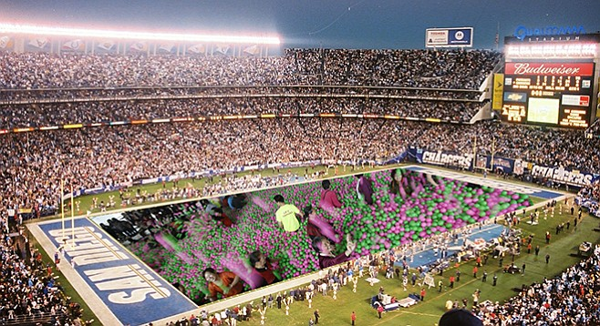 Possible future use for Qualcomm Stadium: ball pit.