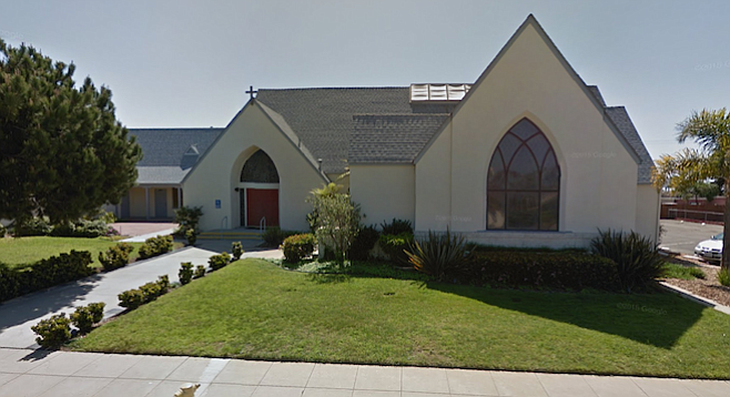 St. Anne's, in Oceanside, is located in a residential area.