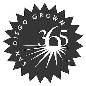 Larson is trying to get the bureau's logo — San Diego Grown 365 — out of the planning stage.