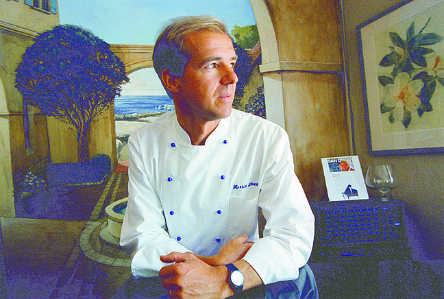 Martin Woesle -  he's among the very few local chefs to serve squab properly, cooked medium-rare, instead of medium-well.