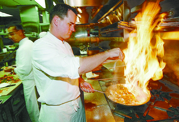 "Chef Michael Stebner: ""I don't crave corn in December, I don't want acorn squash in June."""