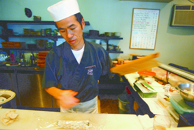 "Yukito Ota:  ""Many local fishes are not oily enough and are too small."""