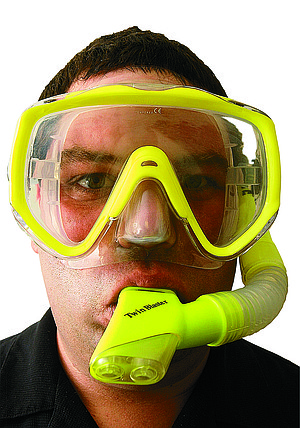 """Jake Shelton: """"It's important to rinse all your gear after you're done diving."""""""