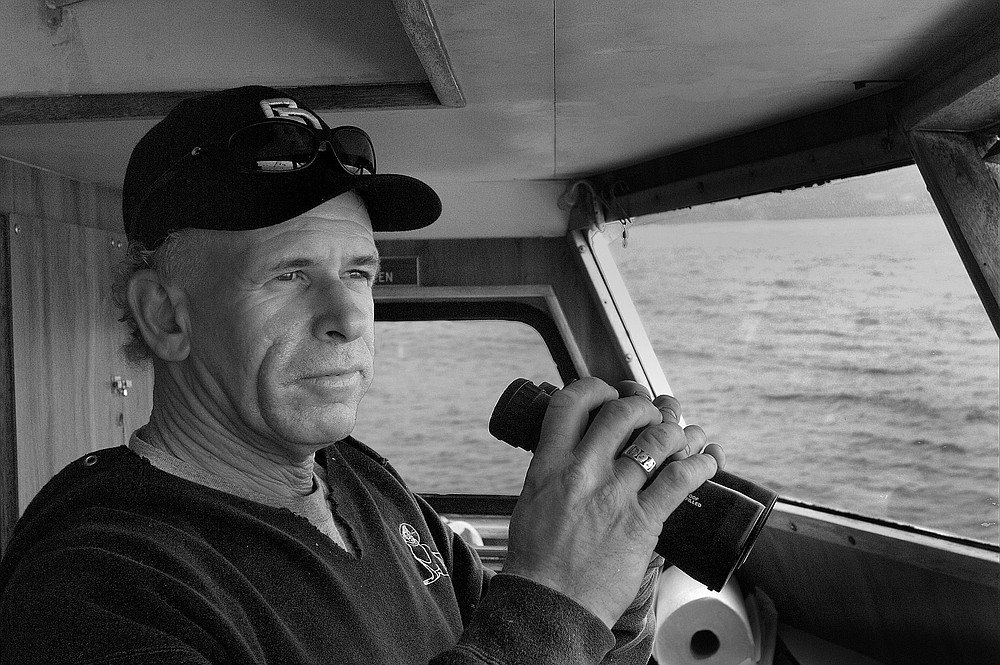 "J.D. McGriff, captain of the Fisherman III,: ""I don't see much benefit in lying about what you catch. We're checked by Fish and Game anyway."""