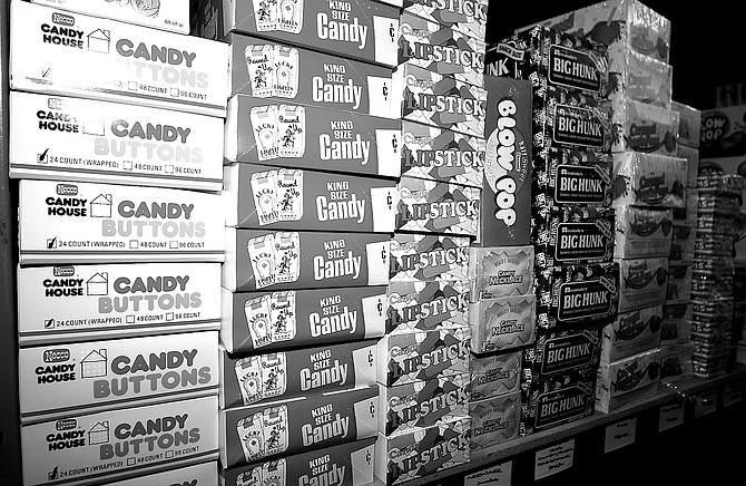 Down in National City, in a corporate subdivision on the concrete banks of the aptly named Sweetwater River, Candy Direct operates out of a nondescript storefront. - Image by Derek  Plank