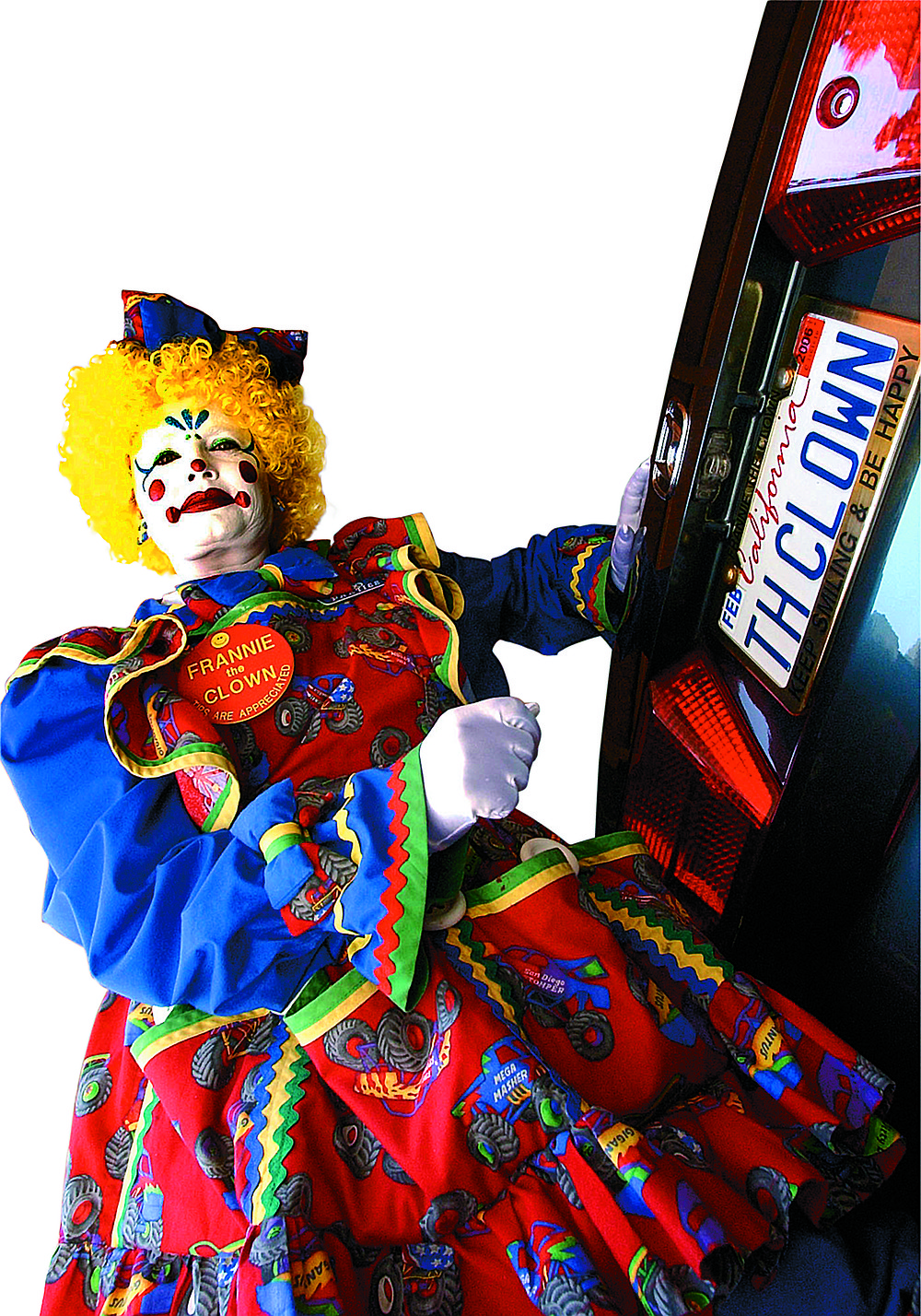 """Frannie the Clown: """"What I take to a hospital is different from what I'd take to a birthday party."""""""