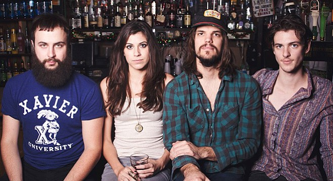 Indie-folkies Houndmouth touring in support of this year's Little Neon Limelight