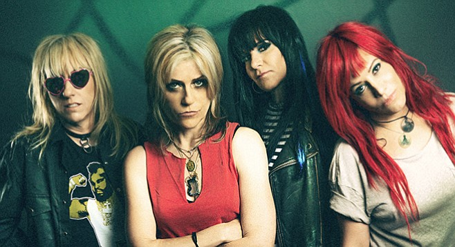 Keep your eyes peeled for the upcoming rock-doc on L7.