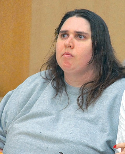 Jessica Lynn Lopez in court one year after her arrest, May 2013.