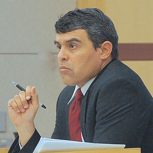 Lead prosecutor for the case, Patrick Espinoza.