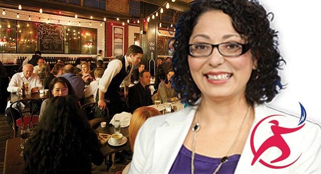 Cristina Garcia got a $139 meal from Sempra.