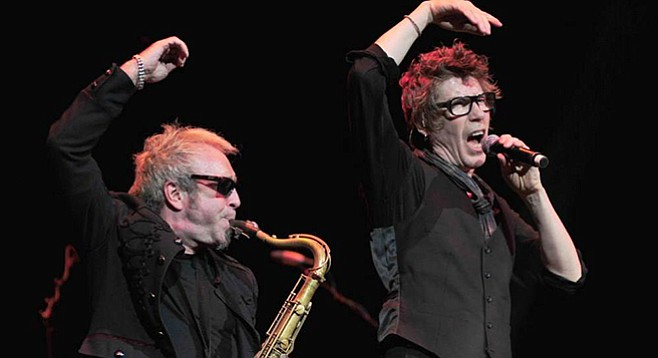 English new wavers Psychedelic Furs take the stage at Belly Up on Tuesday.