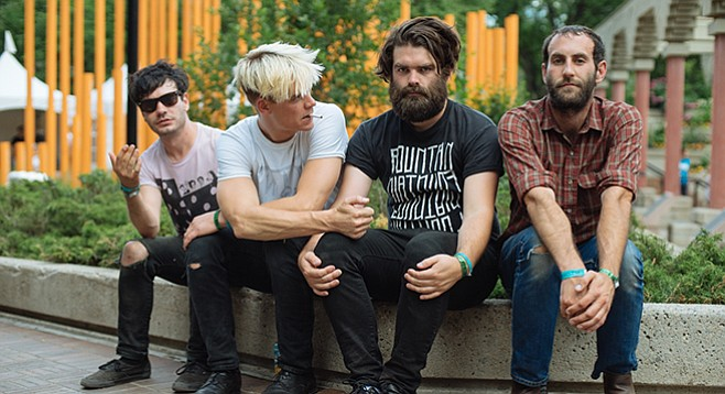 Post-punk Canada band Viet Cong headlines Music Thing sets at the Irenic Thursday night!