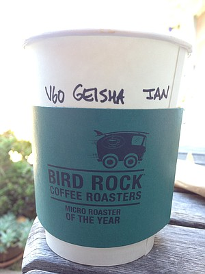Made by the cup. They even got his name right.