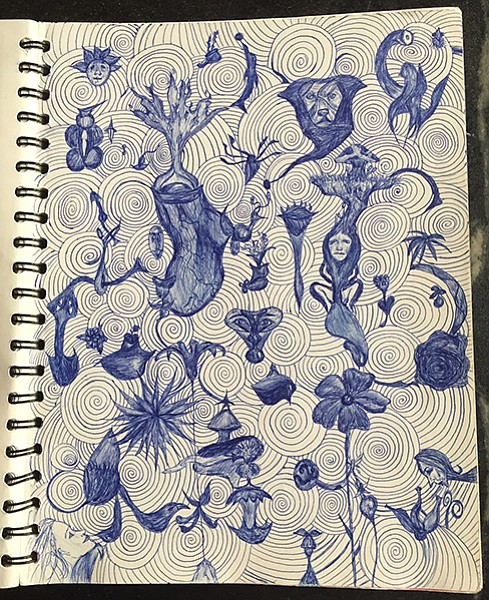 A Doodle Page Out Of One My Sketchbooks