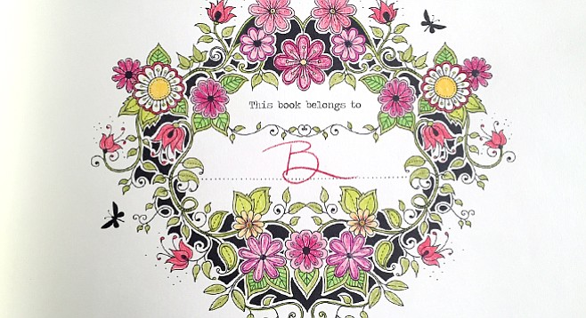 Barbarellas Coloring Book For Adults