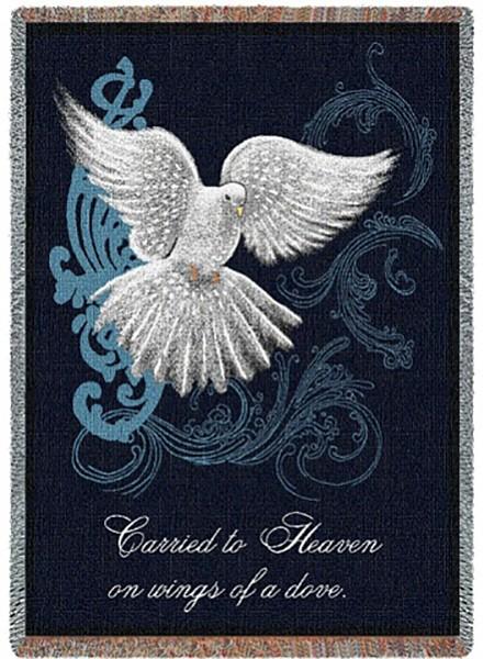 Memorial Dove Blanket