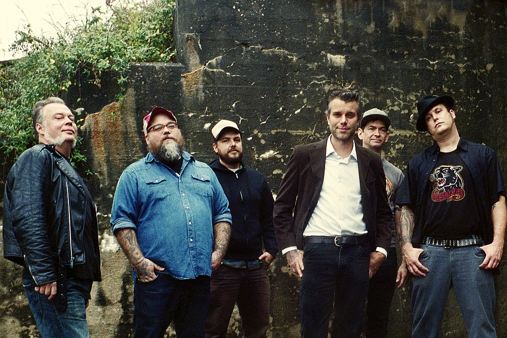 Memphis country skrunks Lucero take the stage at Belly Up on Sunday.