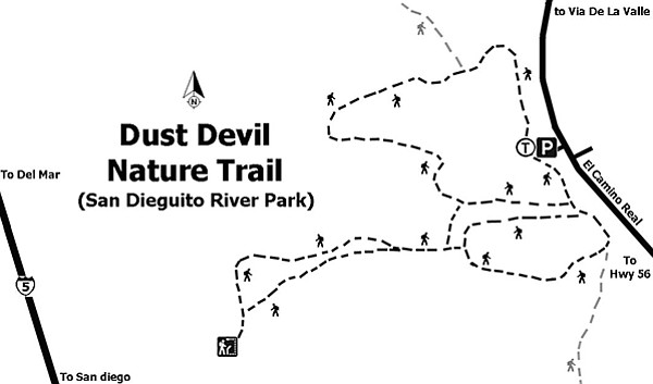 Map of the Dust Devil Trail