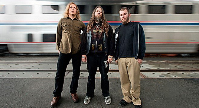 Dynamic metal band Yob hits Brick by Brick Thursday night!