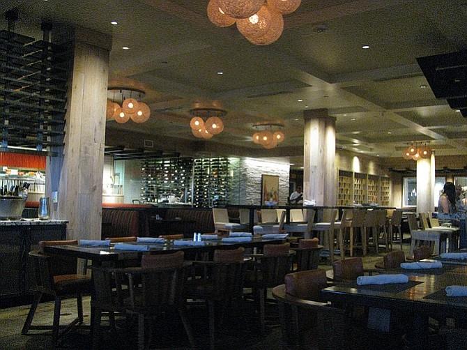 Chandler's restaurant at Cape Rey Resort.