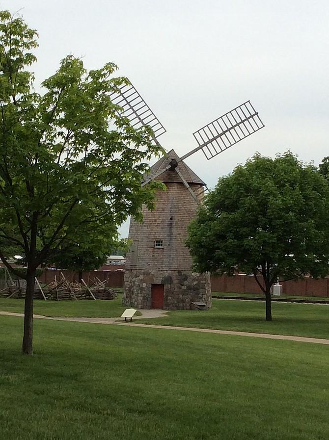 Traveling back in time. Colonial Village Lansing Michigan.