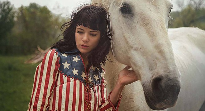 Nikki Lane takes the all-ages stage at the Irenic on Tuesday, December 1.