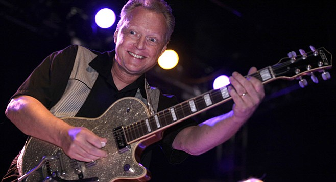 Between treatments, X guitarist Billy Zoom will join the cow-punk quartet at their annual holiday gigs at Casbah Friday and Saturday.