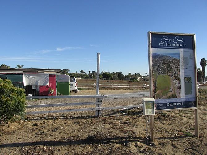 Four acres for $3.8 million