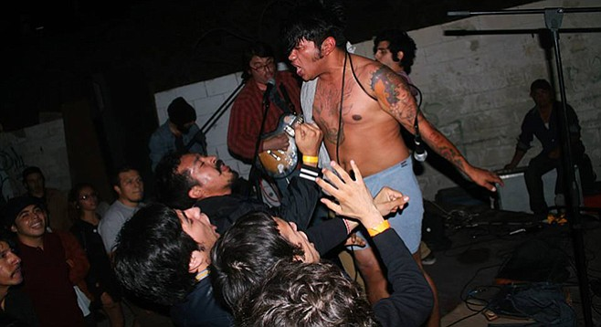 Calafia Puta embrace the spirit of 2014's inaugural Tijuana Rumble Fest.