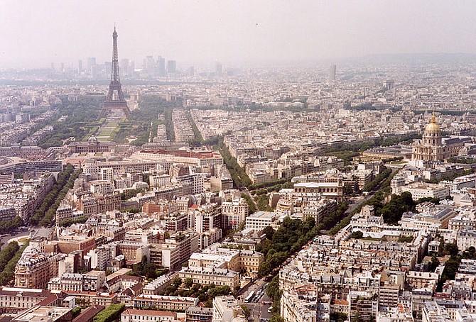 Parigi e la citta.