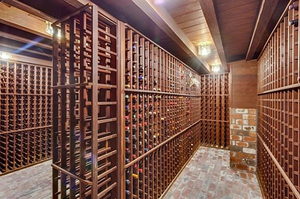 Climate-controlled storage for 4700 bottles