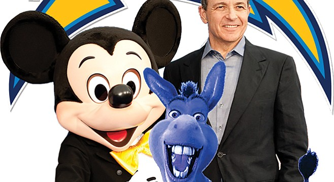 Liberal mega-donor Bob Iger (with friends), may soon have a new friend in Dean Spanos.