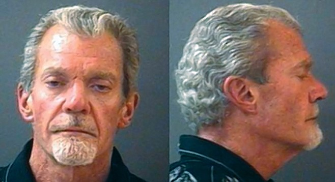 This mugshot is from Jim Irsay's March 2014 drunken-driving arrest in the northern Indianapolis suburb of Carmel.