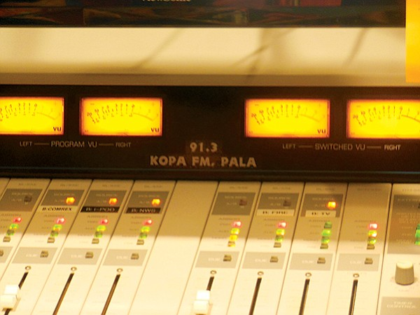 RezRadio soundboard - Image by Irvin Gavidor