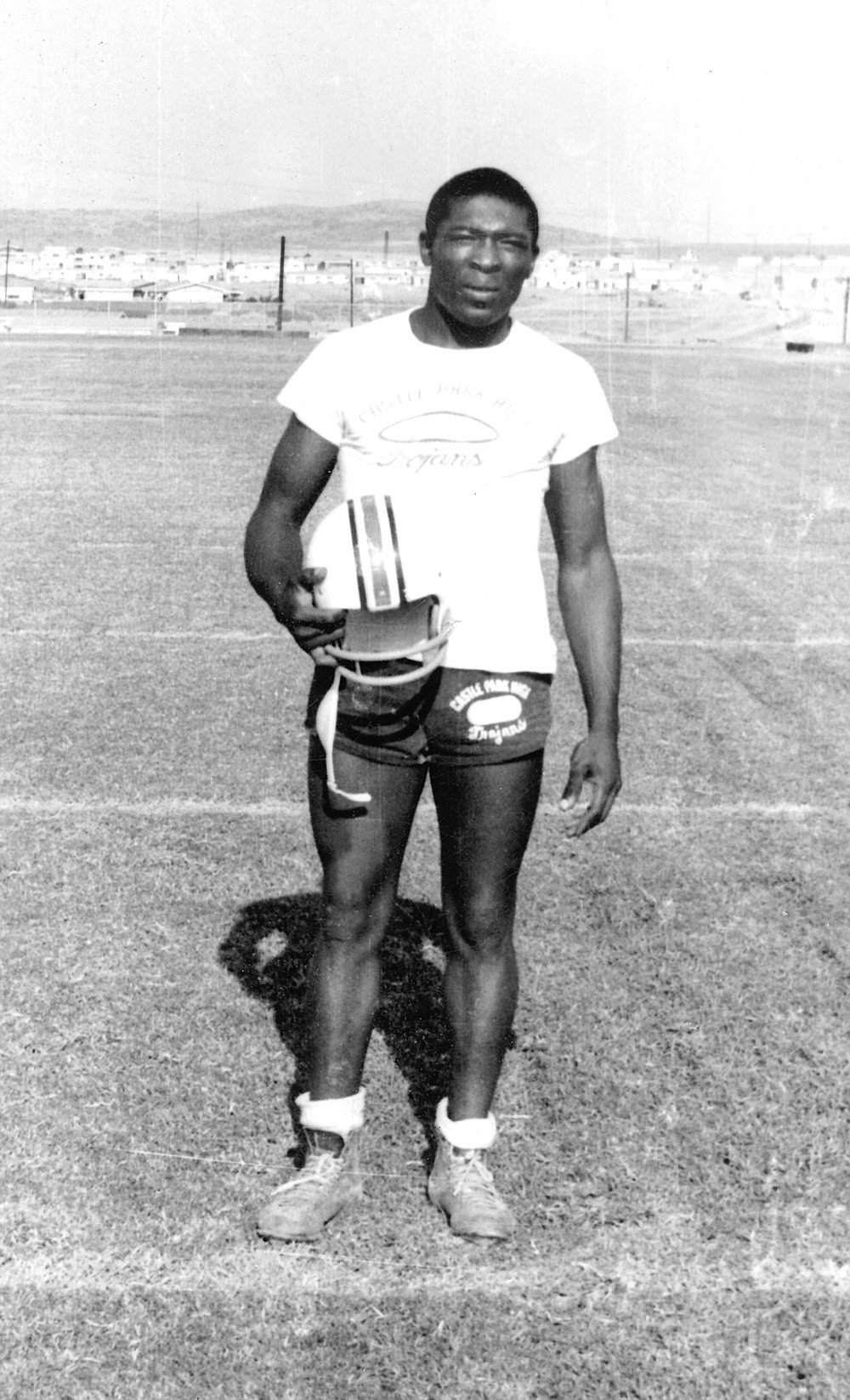 "Mark Robson: When Castle Park High School opened in 1963, Otay kids made up a substantial part of the student body, ""There were only a couple of black guys on the team, but I had respect from the white guys. I was invited to their parties."""