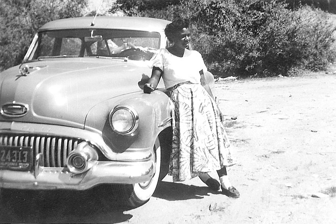 "Paradine Ruff on the Hill, c. 1953. When she moved to the outlying burg of Otay, ""I cried all the way there. And it was such a long ride in those days."""