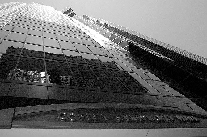 Symphony Towers. America Plaza, Symphony Towers (499 feet), and the Grand Hyatt, the floor numbers skip from 12 to 14.