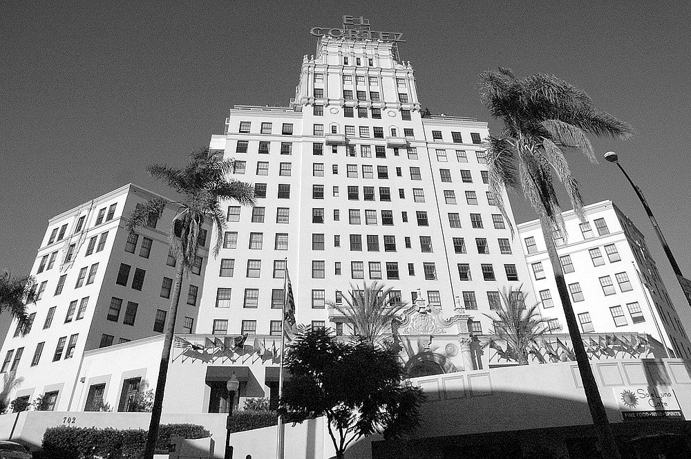 The El Cortez was the highest in town for over 30 years.Now 21 downtown buildings are officially higher than the El.