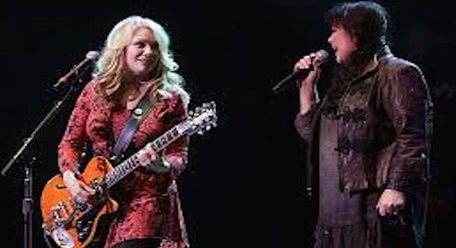 Heart encores with a thee-song run through Led Zeppelin