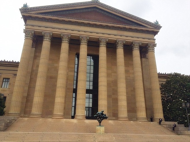 Rocky fans will recognize these steps of Philadelphia's Museum of Art.