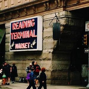 Outside Reading Terminal Market.
