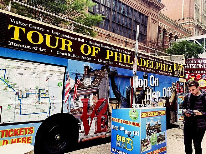 The Big Bus in Philly.