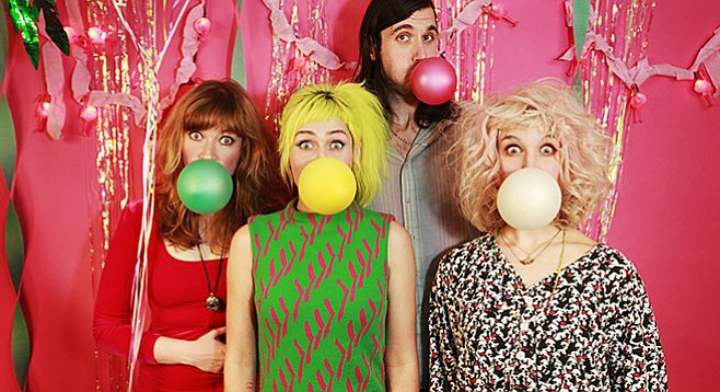 """Tacocat singer Emily Nokes: """"Everyone in Tacocat has a '90s country music soft spot."""""""